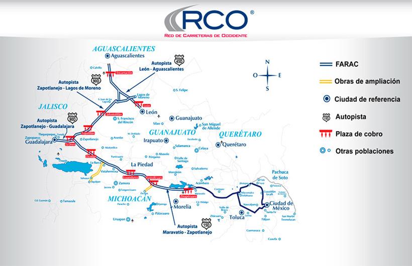 Mapa de Plazas de Cobro